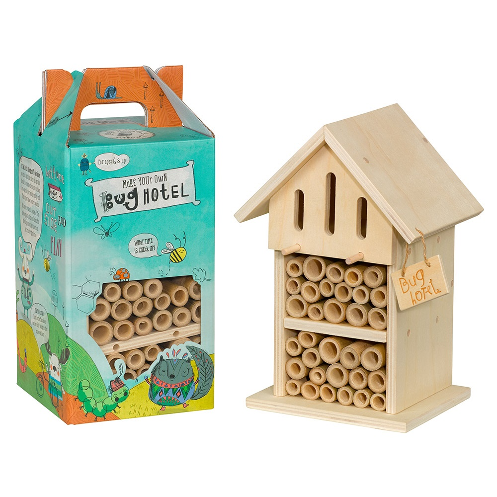 Kids make your own bug hotel unique kids gifts cuckooland for Custom build your own home