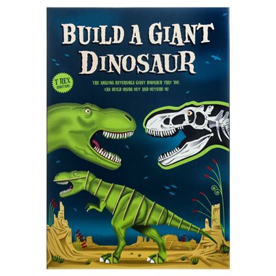 BUILD A GIANT DINOSAUR Activity Set