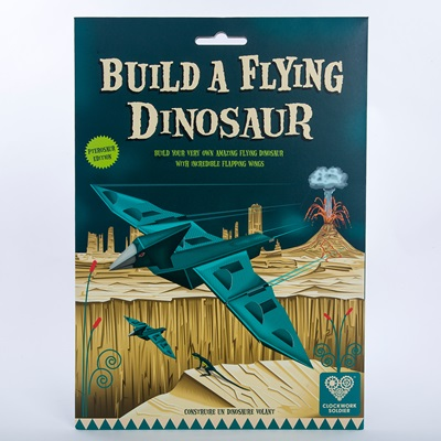 BUILD A FLYING DINOSAUR Activity Set