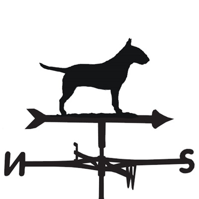 WEATHERVANE in Bull Terrier Design