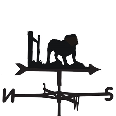 WEATHERVANE in Bulldog Design