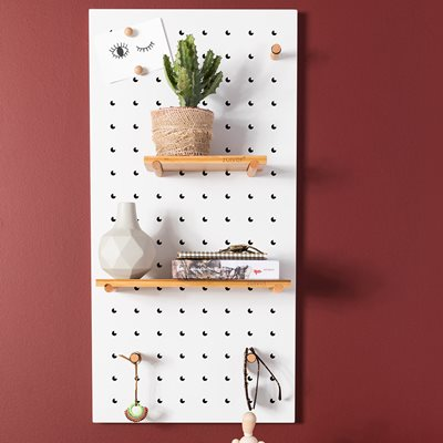 Zuiver Bundy Peg Board in White