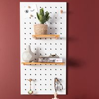 Product photograph showing Zuiver Bundy Pegboard - Green