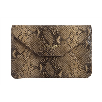 CAPULET LONDON  Amy Kindle Clutch Python Print