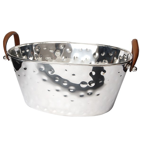 Large Ice Bath Champagne Bucket Silver Plated by Culinary Concepts