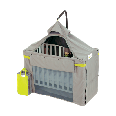 BLACK OUT Cot Canopy by Content and Calm
