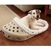 CROC Style Pet Bed - Beige