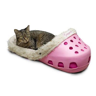 SASQUATCH! CROC Style Pet Bed -  Pink