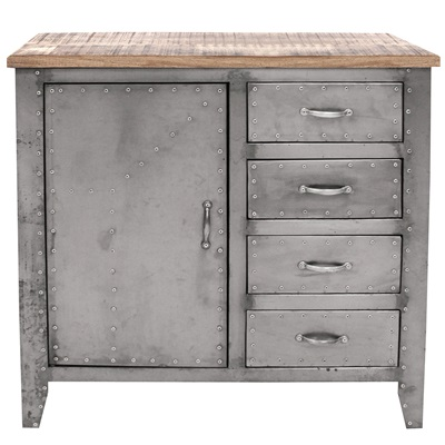 INDUSTRIAL DETROIT Storage Cabinet