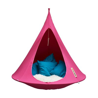 SINGLE HANGING CACOON in Fuchsia Pink