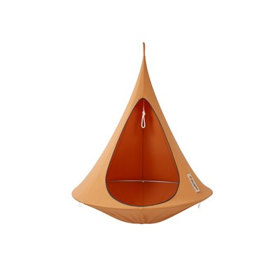 SINGLE HANGING CACOON in Mango Orange