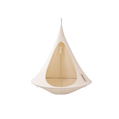 Single Hanging Cacoon in Natural White