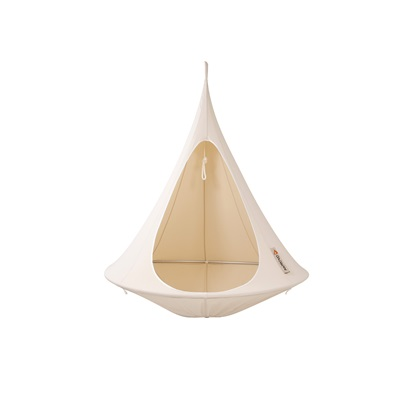 BONSAI CACOON KIDS HANGING CHAIR in Natural White