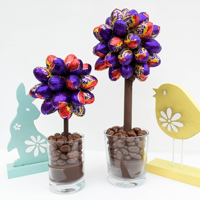 PERSONALISED CREME EGG CHOCOLATE SWEET TREE