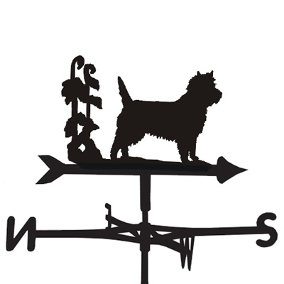 WEATHERVANE in Cairn Dog Design