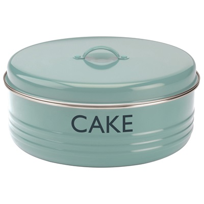 TYPHOON VINTAGE CAKE TIN in Summer House Blue