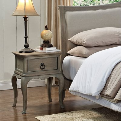 WILLIS & GAMBIER CAMILLE ELEGANT BEDSIDE TABLE with Drawer