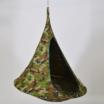 DOUBLE HANGING CACOON in Camouflage