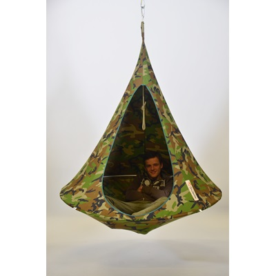 Double Hanging Cacoon In Camouflage Hanging Chairs