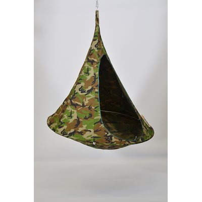 SINGLE HANGING CACOON in Camouflage Design