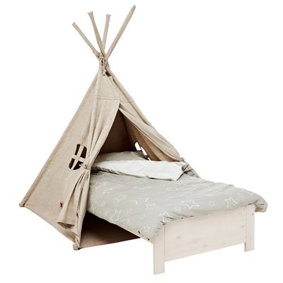 LIFETIME CAMP CANYON TIPI TENT WITH PULLOUT BED