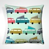 Retro Campervan Printed Pillows and Cushions