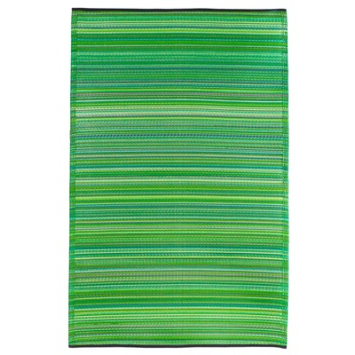 FAB HAB CANCUN OUTDOOR RUG in Green