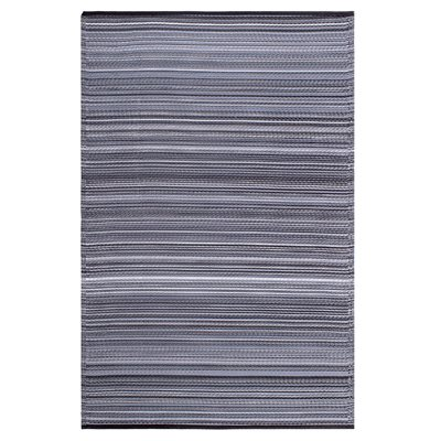 Fab Hab Cancun Outdoor Rug in Midnight