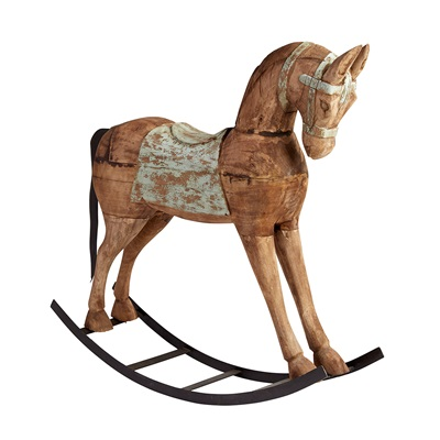 ROCKING HORSE in Shabby Chic Design