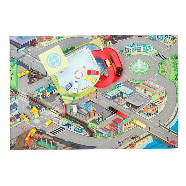 Le Toy Van Giant Town Road Playmat 100cm x 150cm