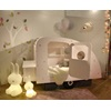 Gorgeous Wooden Kids Caravan Cabin Bed