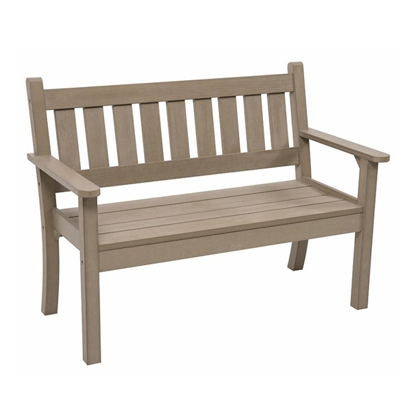 Carefree 2 Seat Bench in Grey