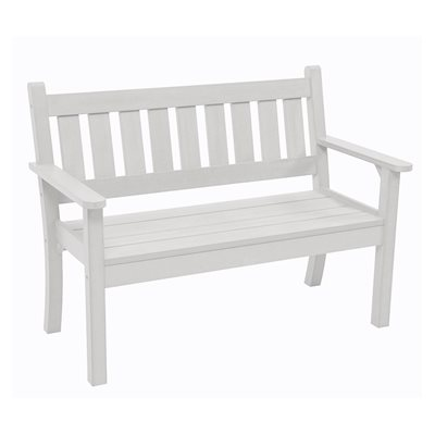 CAREFREE 2 SEAT BENCH in White