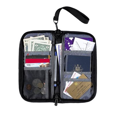 CARIBEE TRAVEL & DOCUMENT WALLET