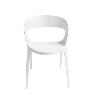 CARLA RESIN CHAIR in White