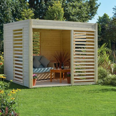ROWLINSON CARMEN SUMMER HOUSE in Natural Timber