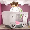 Princess Carriage Kids Bed for Girls