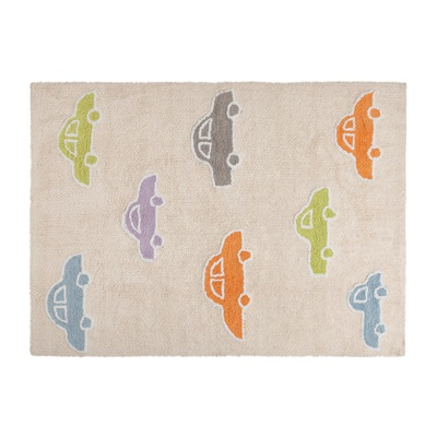 KIDS WASHABLE RUG in Cars Design