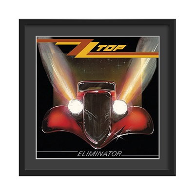 Musical themed bedrooms - Home Gt Home Gt Accessories Gt Wall Art Gt Zz Top Framed Album Wall Art In