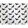 Dog Print Designer Scarves