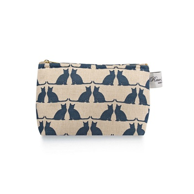 CATS COSMETIC BAG by Raw Xclusive