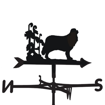 WEATHERVANE in Cavalier King Dog Design