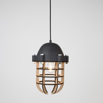 ZUIVER NAVIGATOR PENDANT LIGHT in Black