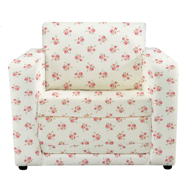Kids Chair Bed in Roses Design