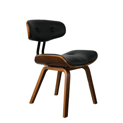 DUTCHBONE BLACKWOOD RETRO LOUNGE & DESK CHAIR
