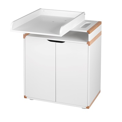 FLEXA BABY CHANGE UNIT with Turnable Top in Beech