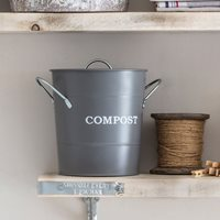 Garden Trading Lidded Compost Food Waste Caddy