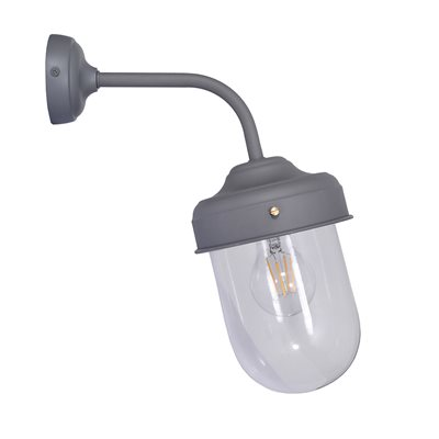 GARDEN TRADING OUTDOOR BARN LIGHT in Charcoal