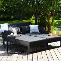 Maze Lounge Unity Garden Garden Double Sunlounger in Flanelle