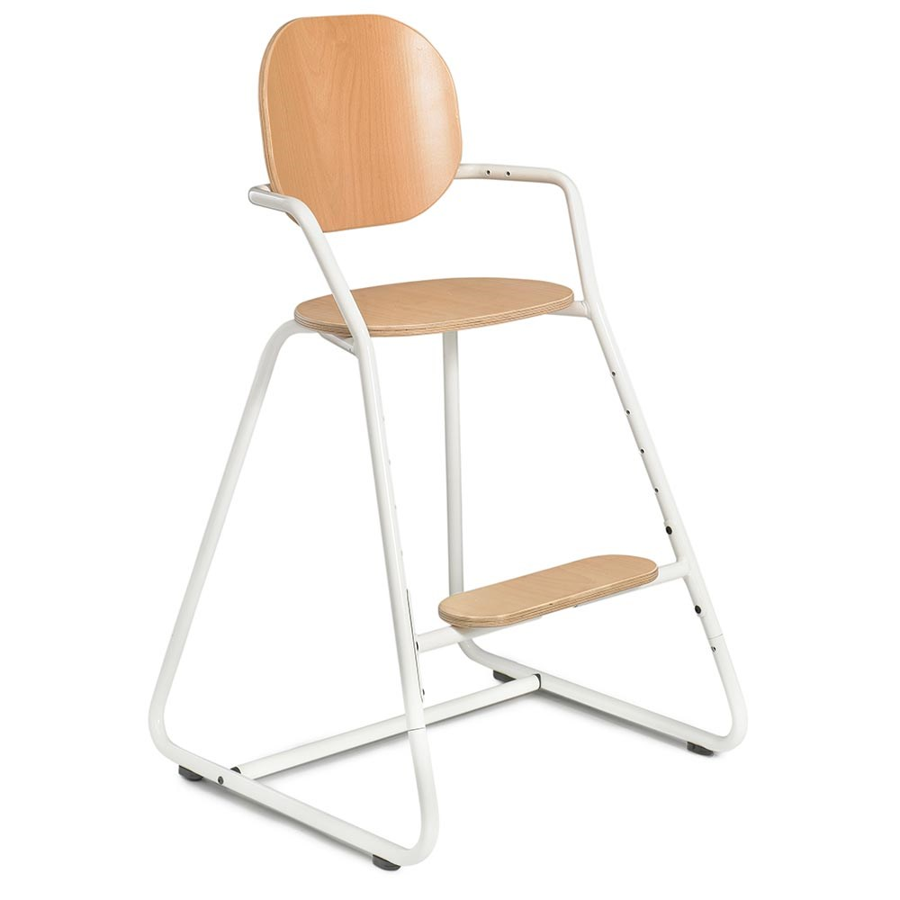 Terrific Tibu High Chair In Gentle White Home Interior And Landscaping Ferensignezvosmurscom